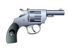 Revolver - colt - vector Stock Photo