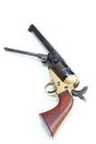 Revolver confédéré de colt Image libre de droits