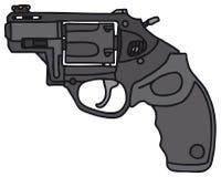 Revolver court Images libres de droits