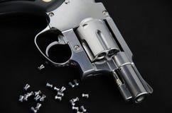 Revolver d'arme à feu de BB Photographie stock libre de droits