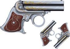 Revolver de Derringer Photo libre de droits