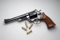 Revolver de magnum Image libre de droits