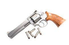 Revolver del magnum Immagini Stock Libere da Diritti