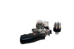 Revolver del magnum Immagine Stock