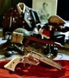 Revolver di Uberti Patton Commemorative Fotografia Stock Libera da Diritti