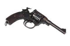 Revolver gun isolated Stock Image