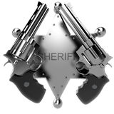 Revolver gun Stock Photo
