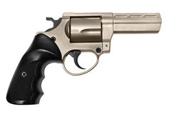 Revolver or handgun  Stock Images