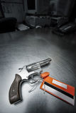 Revolver handgun 38 special Royalty Free Stock Images