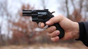 Revolver het schieten