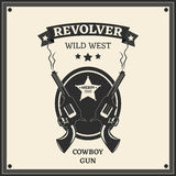 Revolver logo stock photos