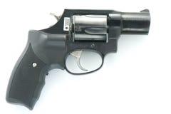 Revolver nero fotografie stock