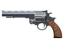 Revolver. Pistol. Military equipment. Weapon. Stock Photos
