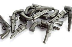 Revolver plastic toy Stock Photo
