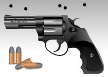 Revolver  poster Royalty Free Stock Images