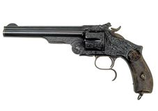 Revolver retro-1 Stock Photos