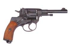 Revolver russo Nagant Fotografie Stock