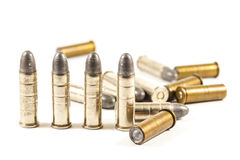 Revolver's bullets Stock Photo