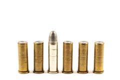 Revolver's bullets Stock Photography