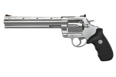 Revolver, side view Royalty Free Stock Images