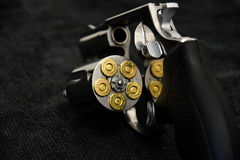 Revolver Taurus Magnum 357. RT 605 Caliber 357 Magnum 5 rounds Barrel 2 inch royalty free stock photography