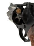 Revolver und Gewehrkugel lizenzfreie stockfotos