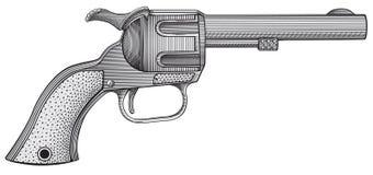 Revolver vector Stock Photo