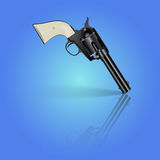 Revolver. Vector illustration Stock Image