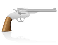 Revolver the wild west vector illustration Stock Photo