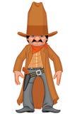 revolverman little som är västra vektor illustrationer