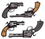 revolvers stock illustratie