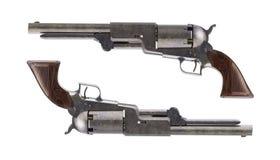 Revolvers antiques pour le duel Photos stock