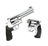Revolvers d'isolement Images stock