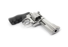 Revolvers isolated on white background Royalty Free Stock Images