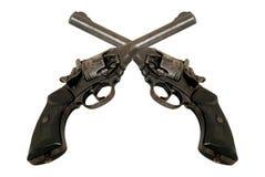 revolvers två Royaltyfri Fotografi