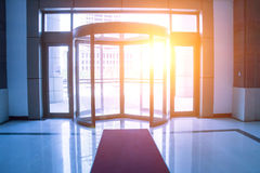 Revolving door Royalty Free Stock Photo