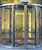 Revolving door Stock Photo