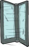 Revolving Door Part Stock Image