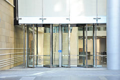 Revolving doors Royalty Free Stock Image