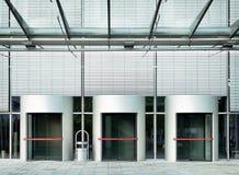 Revolving doors Stock Images