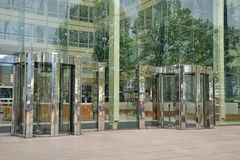 Revolving doors Stock Photography