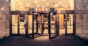 Revolving doors Royalty Free Stock Photography