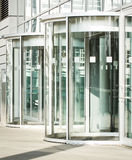 Revolving doors Royalty Free Stock Images