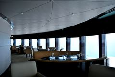 Revolving Restaurant Stock Photo