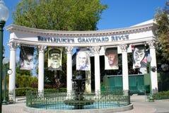 Revue du cimetière de Beetlejuice Photos stock