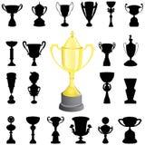 Reward cup vector Royalty Free Stock Photos