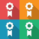 Reward icons set great for any use. Vector EPS10. Stock Photography