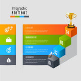 Reward infographic vector. Abstract 3D Modern template vector  banner infographics.Business Concept Royalty Free Stock Photos