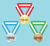 Reward Medals vector Stock Image