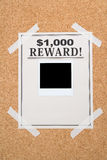 Reward poster Royalty Free Stock Photos